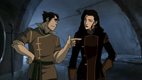 Bolin et Asami (accident de couple)