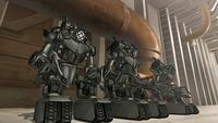 Les Mecha tanks