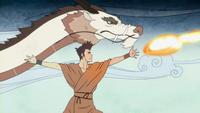 Wan apprend Danse Dragon