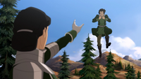 Kuvira menace Varrick