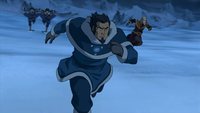 Tonraq et ses amis attaquent le Lotus Rouge