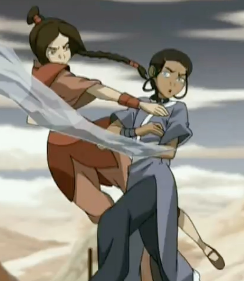 [Tophwei] Azula and Ty Lee (Avatar the Last Airbender