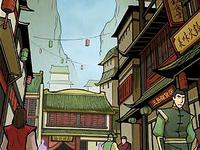 Rues de la ville de Yu Dao