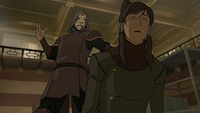 Amon prend maîtrise Korra