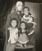 Famille Aang Katara