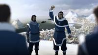 Tonraq ralliant ses troupes