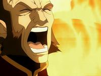 Zhao en colère