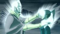 Aang restaure maîtrise Korra