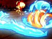 Zuko combat Azula