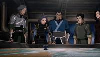 Discussion tactique de l'Équipe de l'Avatar