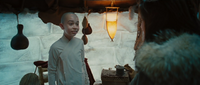 Film - Aang and Katara in igloo