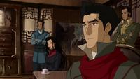 Mako reunido con la Triple Amenaza
