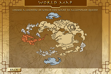 FanonAvatar Tales Of The World Avatar Wiki FANDOM Powered By - Avatar the last airbender us map