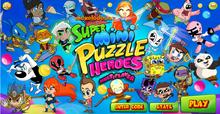 Super Mini Puzzle Heroes заставка