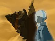 Aang sieht seine Inkarnationen