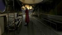 Police airship interior
