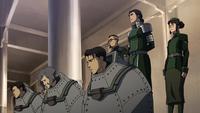 Wei, Wing, y Suyin atrapados