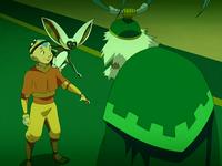 Aang, Momo, and Bumi