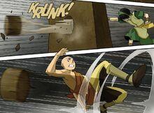 Комикс Р3 Тоф против Аанга