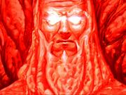 Feuertempel Statue