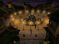 Firelight Fountain