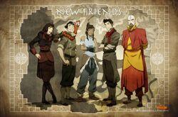 Poster de Nuevos Amigos