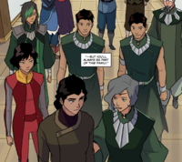 Suyin tells Kuvira she will be a part of her family