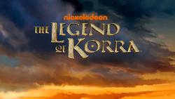 Logo de apertura de La Leyenda de Korra