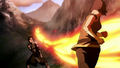 Korra firebends at Kuvira.png