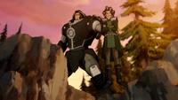Baatar Jr. threatening Varrick