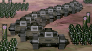 Tanques del ejercito de Kuvira