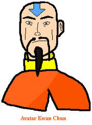 Portrait of Kwan Chun