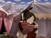 Ty Lee hugs Azula