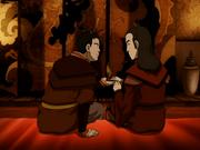 Zosin gibt Roku sein Kronprinzen-Kopfstück