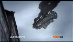 К1x10 Падающий дирижабль