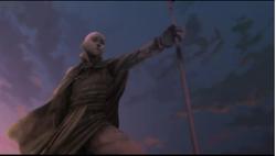 Aang standbeeld 2