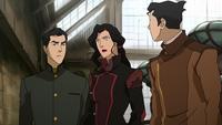 Mako, Asami y Bolin