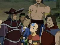 Sokka convincing the pirates