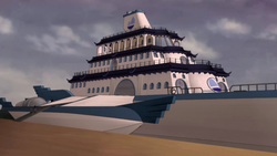 Varrick's yacht