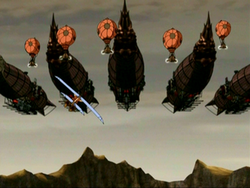 Fire Nation airships