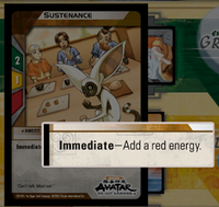 Immediate advantage card