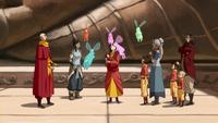 Dragonfly bunny spirits appear