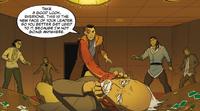 Tokuga threatens Zhen
