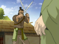 Earth Kingdom dao swords