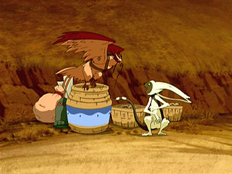 File:Hawky and Momo fighting.png