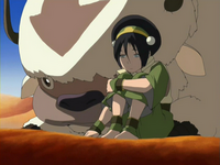 Toph and Appa