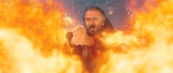 Iroh in een gevecht op de Noord Pool
