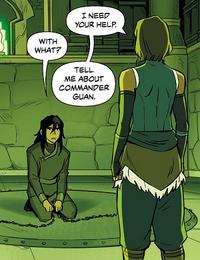 Korra asks Kuvira about Guan