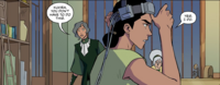 Kuvira volunteers for the experiment