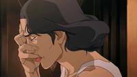 Lin cries